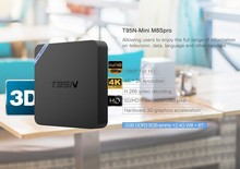 2017 Latest tv box Android 5.1 2GB DDR3 RAM 8GB NAND ROM t95n Amlogic s905 Android tv box t95n mini m8s pro