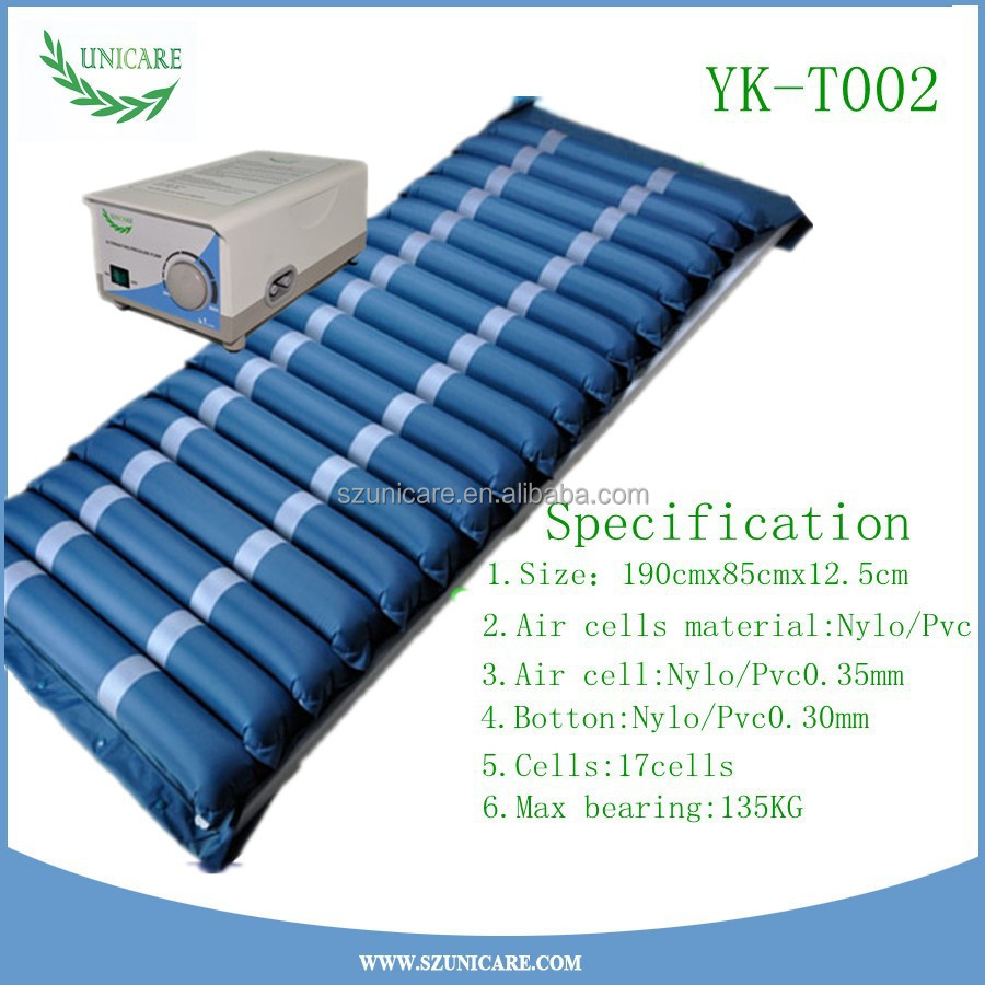 Anti Bedsores Alternating Pressure Dynamic Low Air Loss Al Mattress With A High Quality Pumps System Good