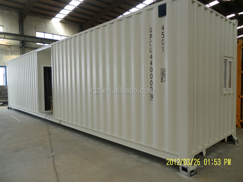 combined 20ft container office for Belgium