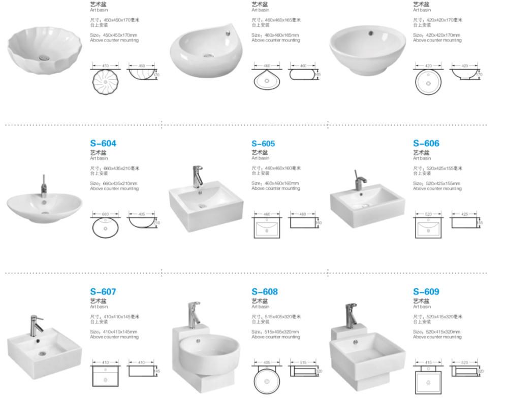 Bathroom Corner Hand Wash Basin Corner Design Ceramic