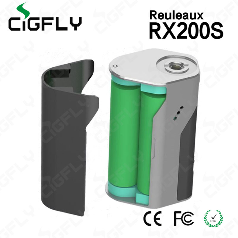 Mod vape 2016 electronic cigarette wismec Reuleaux RX200S TC with 18650 battery