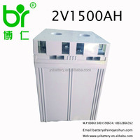 2V 1500Ah lead acid Solar /Wind Gel energy storage battery