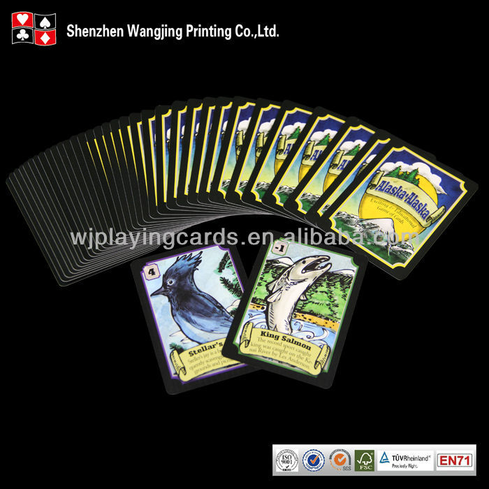 Custom Travel Playing Cards,Travel Card Game Printing