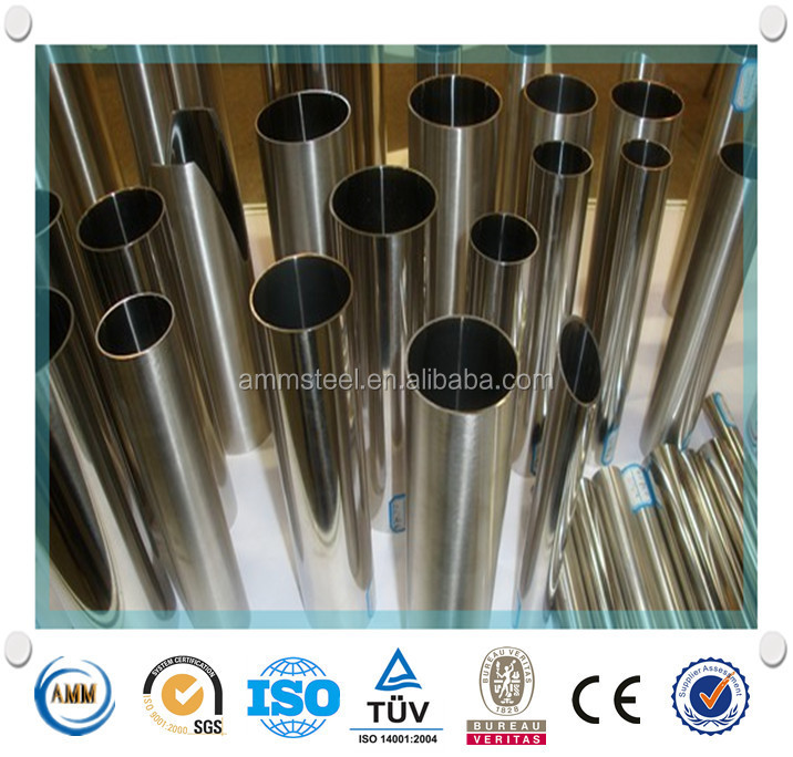 SS 310 seamless stainess steel pipe/tube from China manufacture