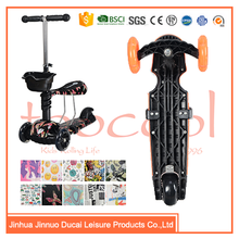 china factory direct 3 wheel toddler scooter