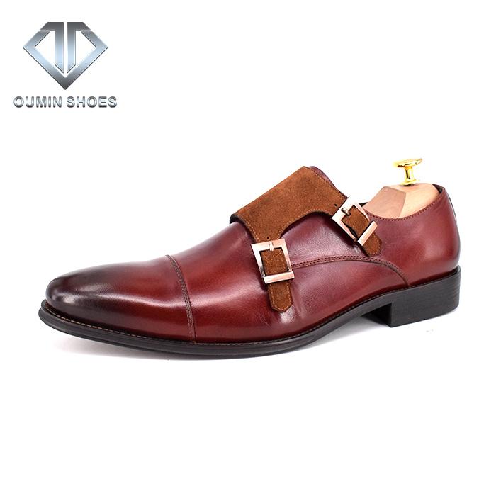 Toe Shoes Fashion Designer Dress New Monk Classic Pointed Luxury Shoes Shoes Style Men Men Dress qSxPwg