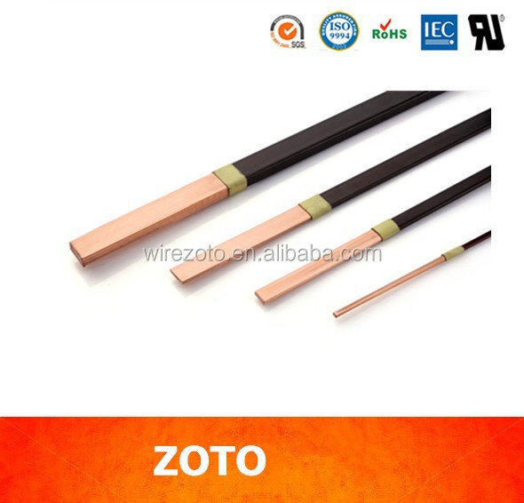 enameled copper coated aluminum winding wire