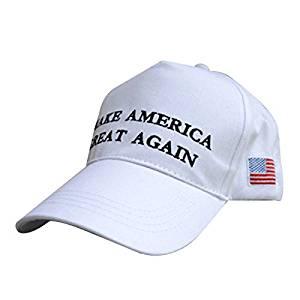 112a4b1c1f0 Make America Great Again Hat Donald Trump 2016 Republican Adjustable white  new Caps Hat