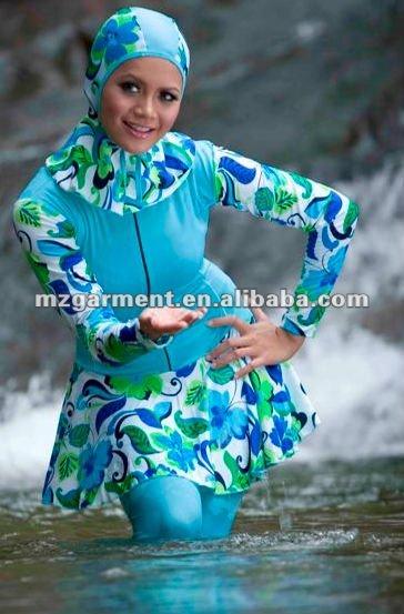 trajes de bano para mujeres musulmanas