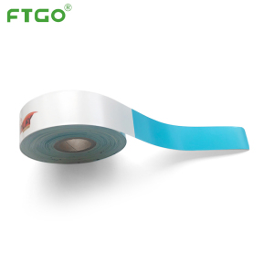 FTGO adult durable direct thermal id band adhesive wristband bracelet id medical ODM