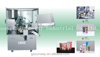 Shampoo Plastic Tube Filling and Sealing Machine