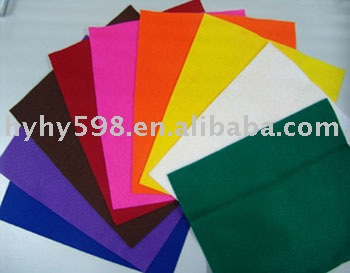 Acrylic Felt,Color Felt From 1.0mm To 3.0mm Thickness