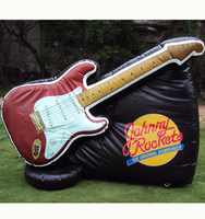 inflatable guitar for outdoor promotion