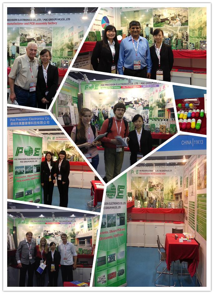 Shenzhen Display LED PCB da Placa de Circuito Impresso/pwb De Alumínio para led