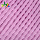 colorful air flow jacquard sandwich mesh fabric for wedding