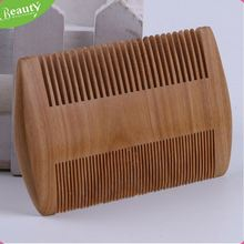 Beard styling shaping template comb tool ,h0tE3w custom printed wooden combs for sale
