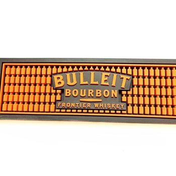 Factory Massive Mould Rubber PVC Beer Drip Bar Mat With 3D Embossed Logo For wholesales