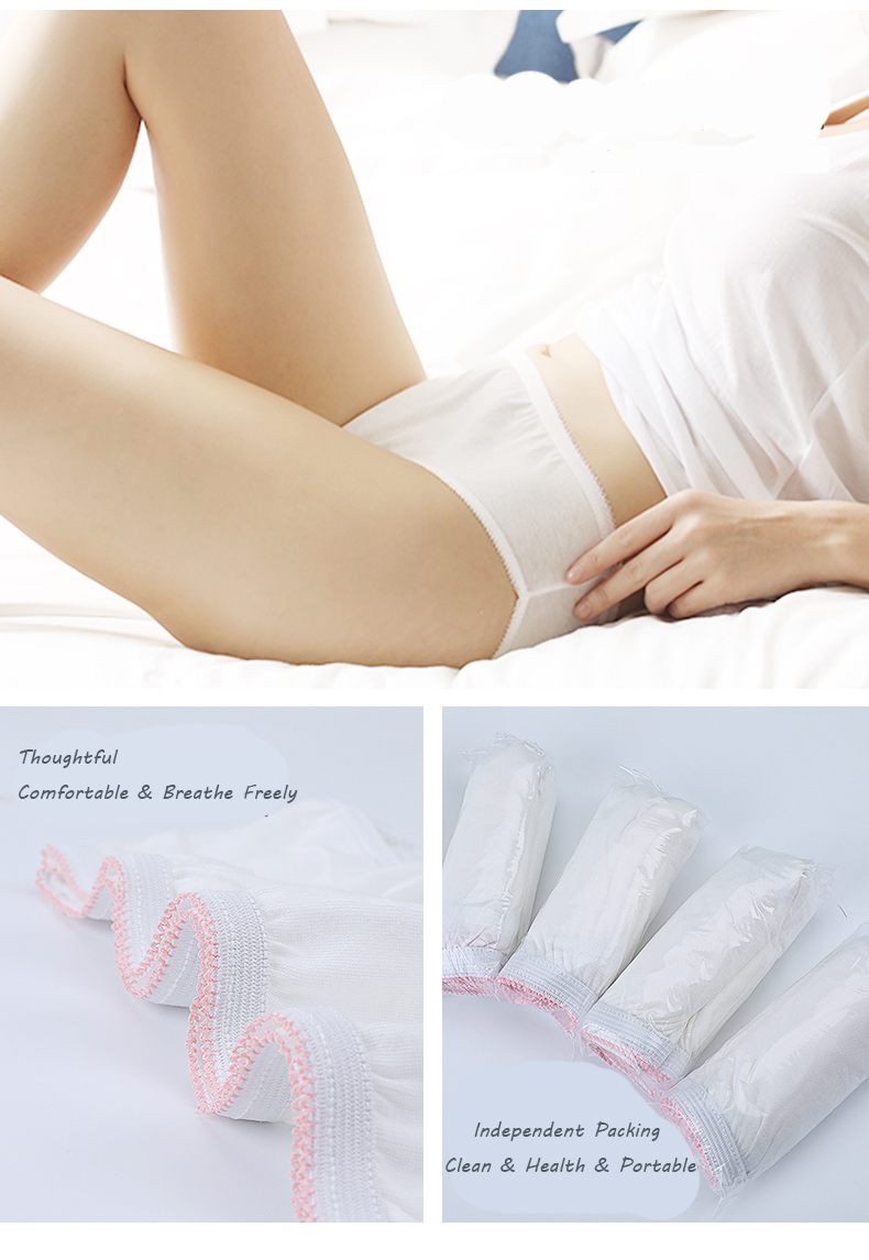 Professional design soft maternity brief underwear for pregnancy woman