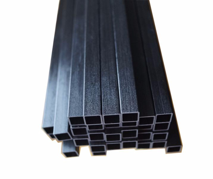 CFRP Carbon Fiber Products Composite CFRP Tube, Pultrusion Roll wrapping Molding CFRP Tube