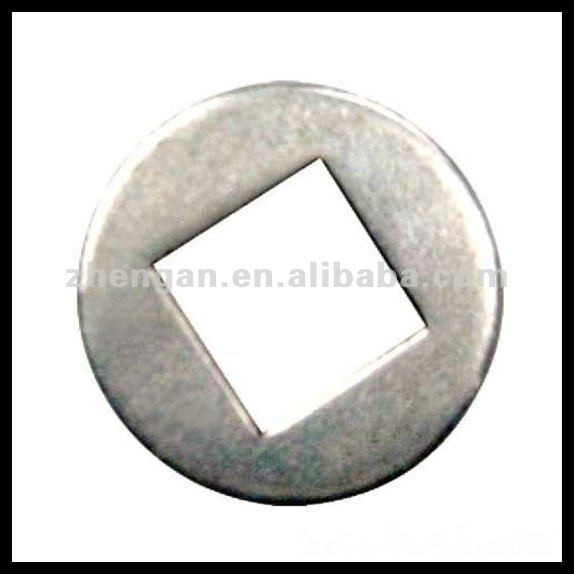 carbon steel galvanized square hole washer