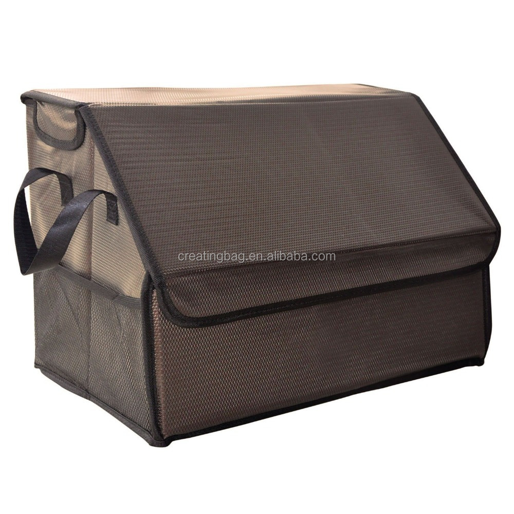 Swell Khaki Color Car Trunk Storage Folding Cargo Organizer Multipurpose Foldable Cargo Storage Container Box Bag Case With Cover Buy Khaki Color Car Forskolin Free Trial Chair Design Images Forskolin Free Trialorg