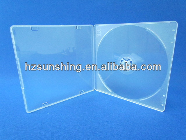 5mm Slim Clear Promational Cheap CD Box Cover