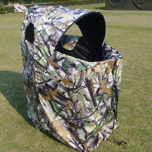 Camouflage Hunting Blind Chair Hunting Tent Chair for One Man GB8243 & Camouflage Hunting Blind Chair Hunting Tent Chair For One Man Gb8243 ...