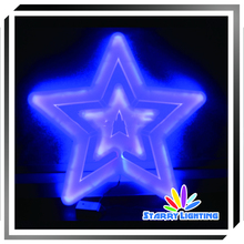 60cm commercial twinkling christmas light star motif rope light