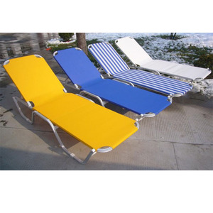 Beach sunbed chaise lounge chairs outdoor sun lounger