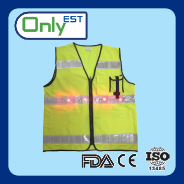 Road safety popular fluorescent yellow high visibility security vest