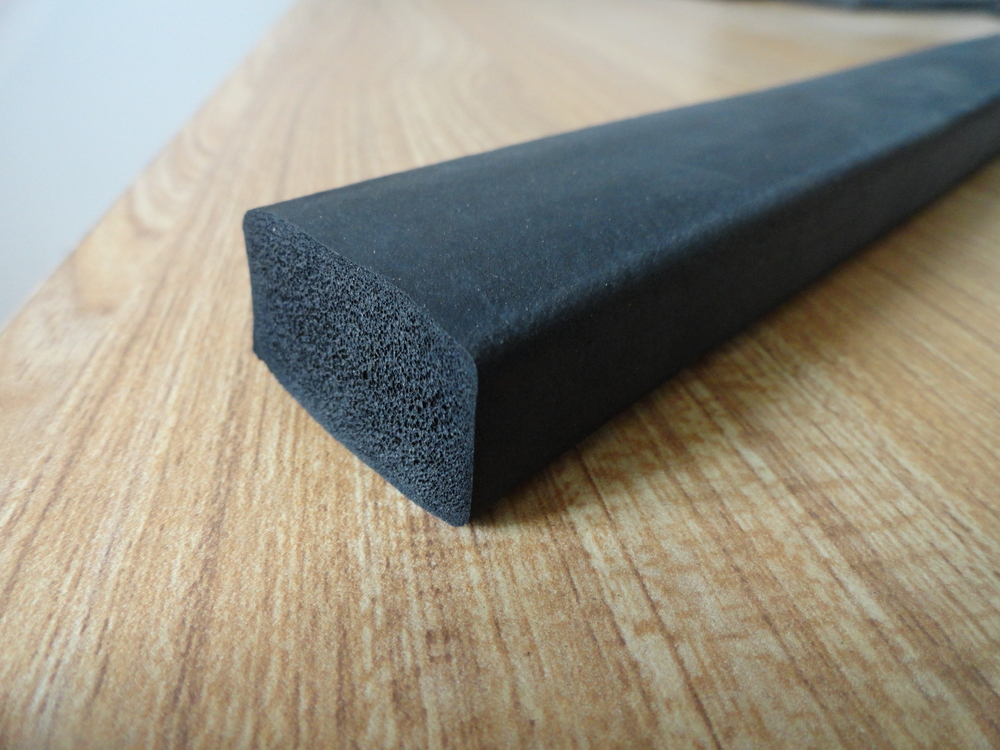 Square Foam Rubber Epdm Rubber Seal Strip Rubber Seal With