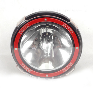 YC888 7 Inch HID Work Light 35W 55W Spot Light Round Shape Car Work Light