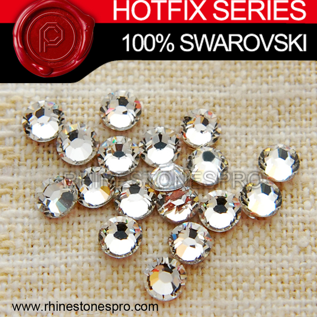 354c1e5375ec Swarovski Elements Jewelry Clear (001) 20ss Crystal Iron On Hotfix  Rhinestone