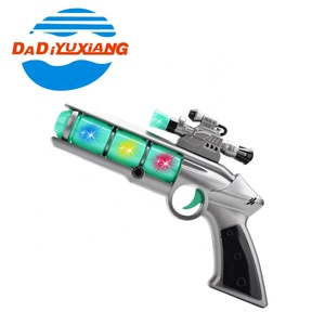 Newest design kids play electric blaster plastic toy gun safe from Dadi