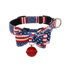 High quality and durable comfortable pet collar Christmas cloth cat dog collar pet supplies from China FA Enterprise