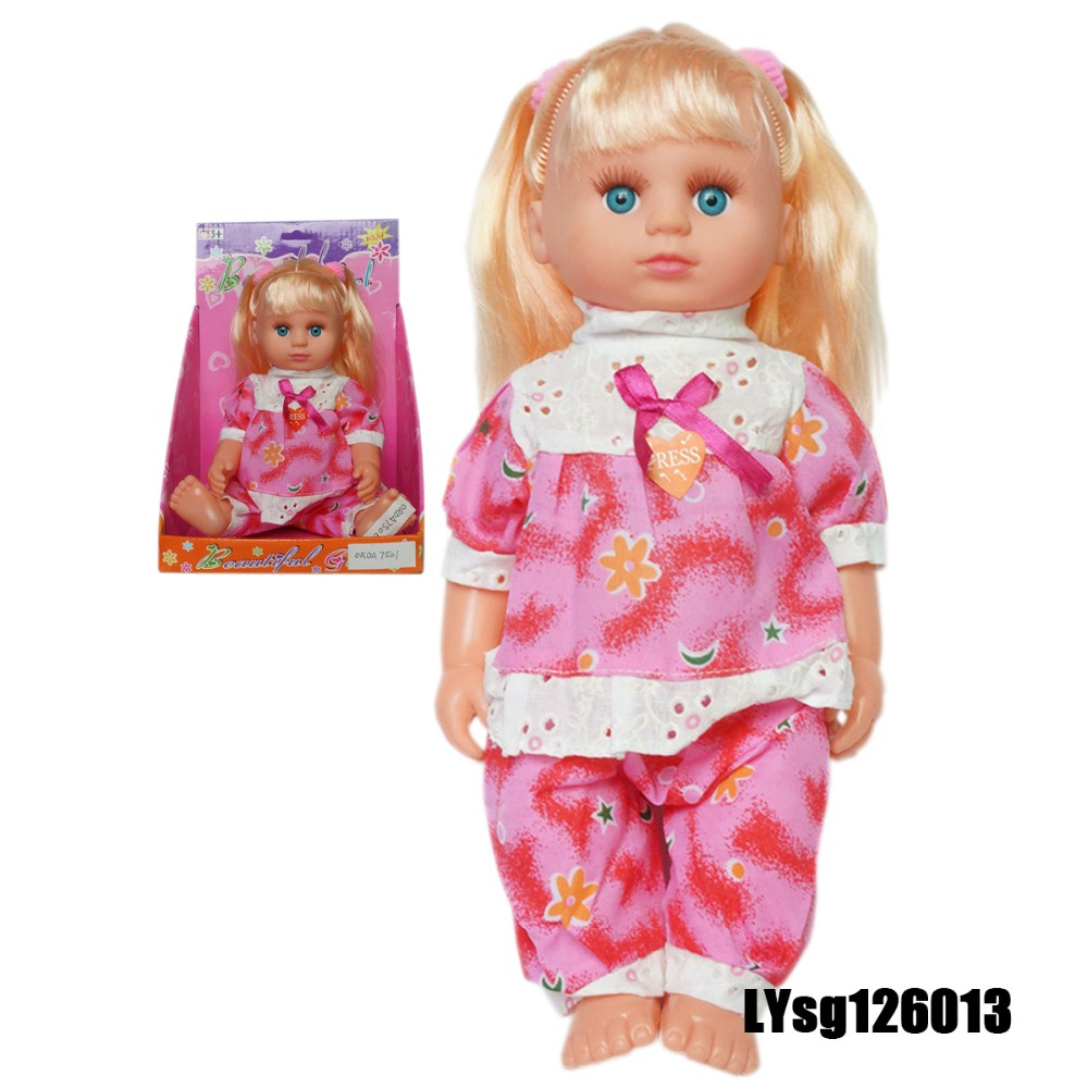 High Quality 12 Inch Baby Doll For One Year Old With Soft