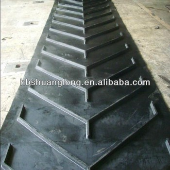 Cleat-top/crescent Top Profile Chevron Conveyor Belts For Incline  Applications - Buy Cleat-top Chevron Conveyor Belts,Crescent Top Profile  Conveyor