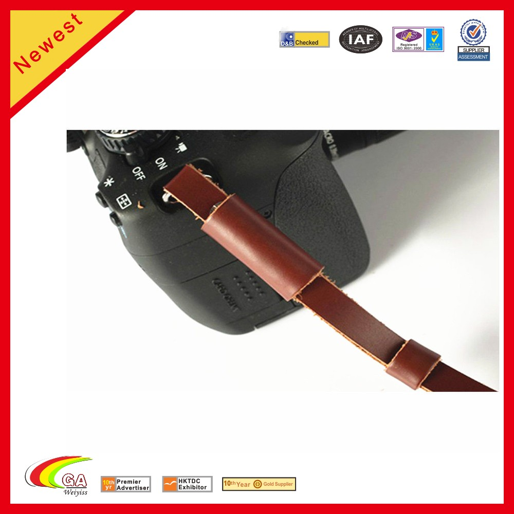 Genuine Leather Camera Hand Wrist Strap