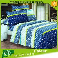 microfiber reactive printed queen bed comforter set