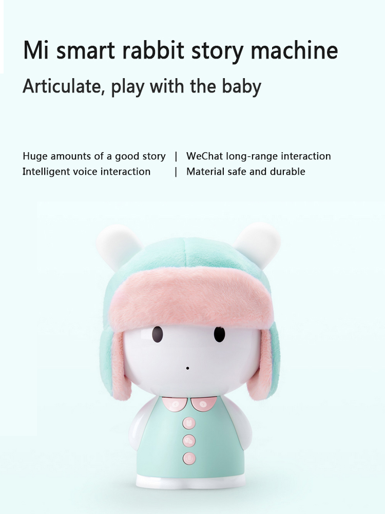 Wholesale Educational Toy Preschool Gift Cute Xiaomi Mi Smart Rabbit Bunny Storyteller