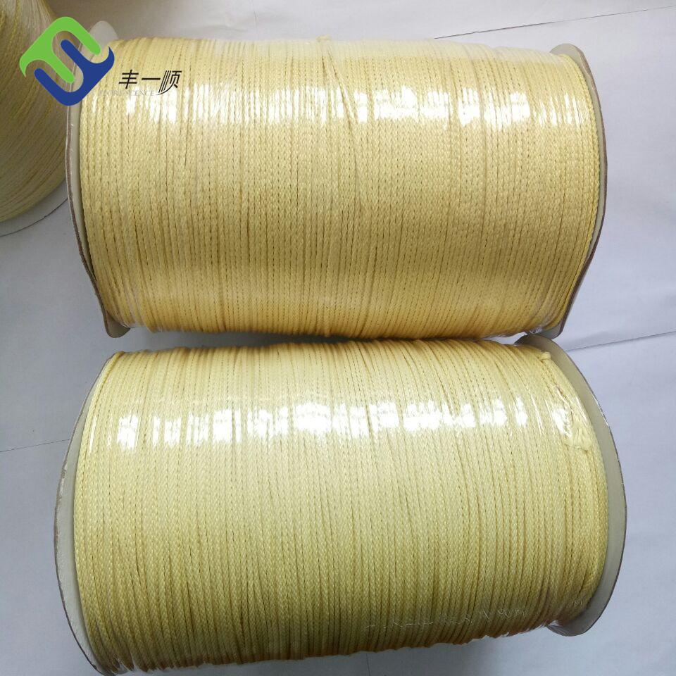 3mm 16 strands braided kevlar aramid rope for kite line