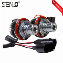 High quality error free e60 ce rohs fcc canbus led marker angel eye for bmw e39 10w front headlights