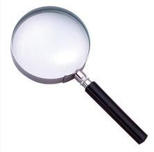 Cheap metal classical plastic handle magnifying glass