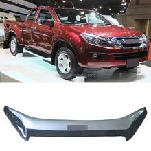 TWO COLOURS CAR BONNET GUARD VISOR FOR ISUZU D MAX 2012 use