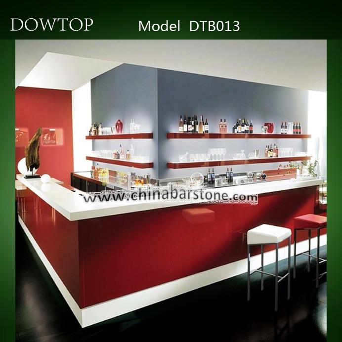 L shape fast food bar counter for sale buy fast food bar for Barra bar moderna