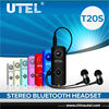 UTEL T20S STEREO BLUETOOTH HEADSET for iPhone / iPad / SmartPhone / most Mobile Phones