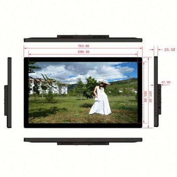 hopestar Indoor 27inch lcd advertising display ktv player