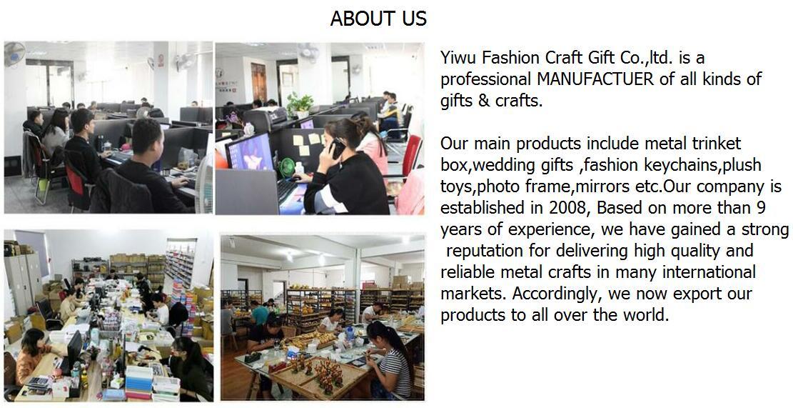 Yiwu Fashion Craft Gift Co., Ltd. - Crafts & Gifts,Metal jewelry box