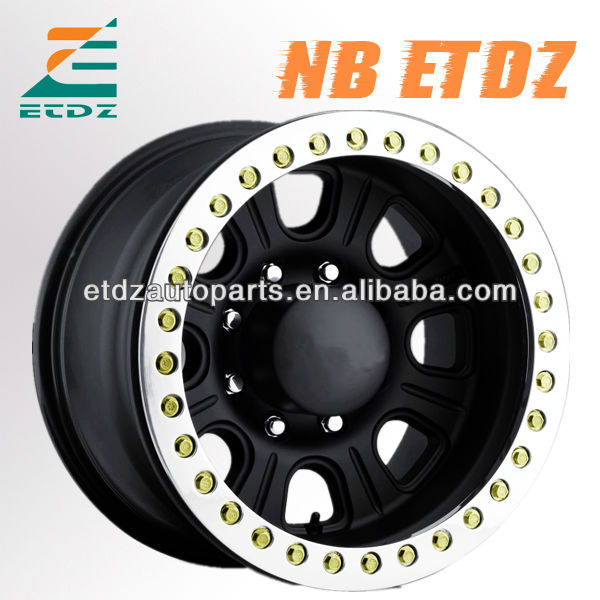 4x4 offroad Monster real beadlock alloy wheel for jeep toyota suzuki