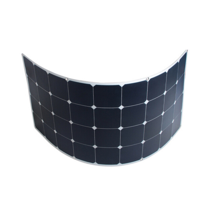 High efficiency with sunpower solar cell 120W flexible solar panel